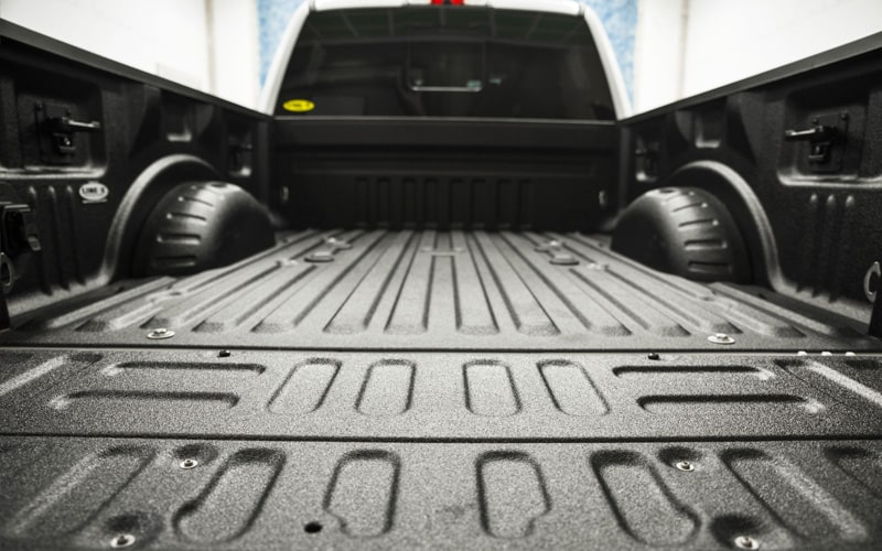 Aplicación Bedliner pick-up